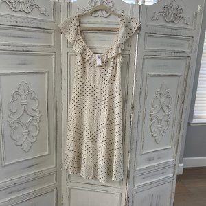 NWT Old Navy Polka Dot Dress - SZ. Small